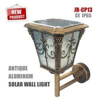 High power CE veranda decking lighting solar post cap light for outdoor lightingJR-CP13) for sale