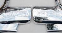 Toyota Prado Chrome accessories lamp covers