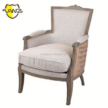 restaurant button tufted wing dining chair