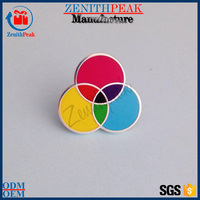 promotion no minimum custom funny metal lapel pin badge for sale