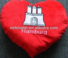 Love Love Romantic Gift Warm Red Decorative Pillow Cushion Valentine's Day Heart Pillow