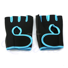 Eco-friendly fitness gloves/sports gloves/half finger fitness gloves for cycling