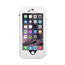 "2016 new design waterproof/Shockproof Stand Case Cover for Iphone 6 4.7"" White"