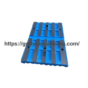 jaw plates for mining crusher parts