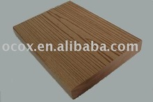 OCOX Wood plastic composite outside flooring decking board, 100% recycled