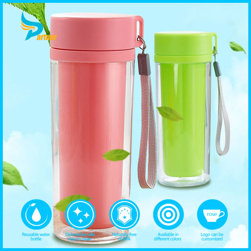 New Product Eco-Friendly Customized Label Plastic Drinking Water Bottle