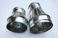 Galvanized Steel Spiral Air Duct Reducer Pipe & Fittings