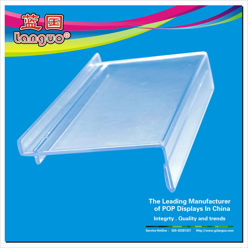 Wall hanging clear acrylic shoe display case for display