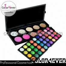 Low MOQ and low price palette of eyeshadows kiss touch cosmetic
