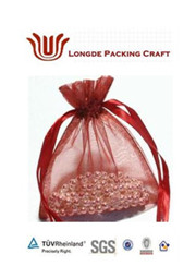 fancy gift&jewelry&cosmetic organza pouch/bag