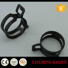 High pressure Carbon Steel Spring Hose Clamp/hose clip made in China