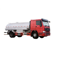 New 6x4 Oil Tank Truck Mobile Gas Refueling Truck Fuel Tanker Truck For Sale