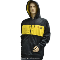 New, Mens 7.4V rechargeable battery powered heated Hoodie Jacket
