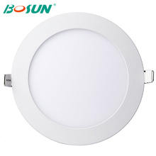 factory price round/square led smd 3-24W led recessed ceiling panel light