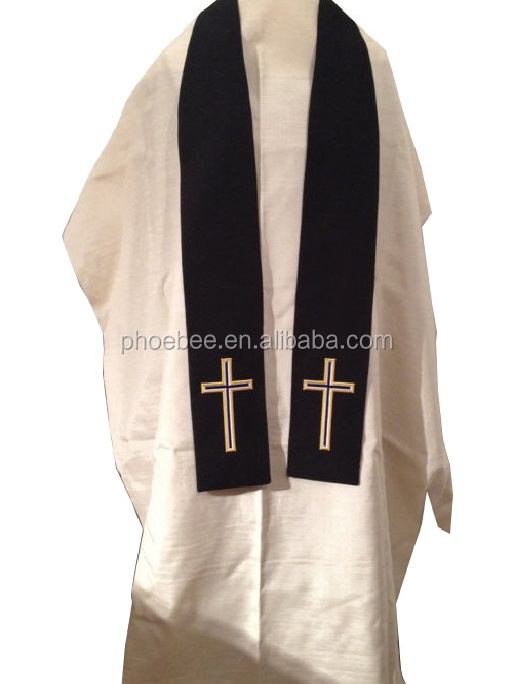 good quality Chaplain Embroidered Stole