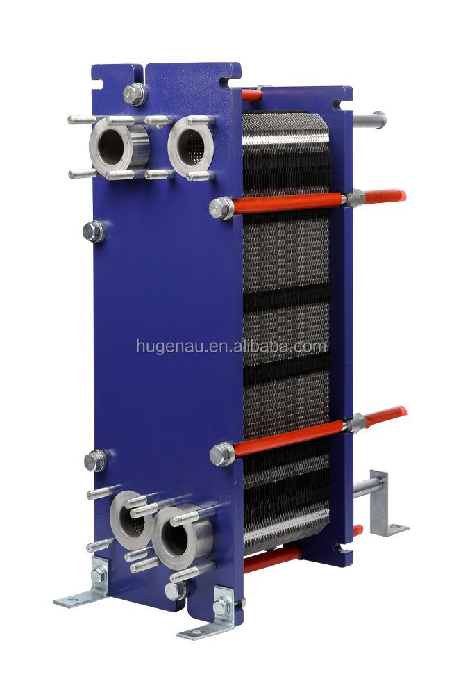Alfa Laval M6 replacement Gasket type Counter flow plate heat exchanger 300KW - 800 kW 16 kg/s (250gm) HU550 series
