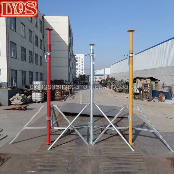Adjustable Steel Post Shores : Adjustable steel post shores heavy duty slab formwork