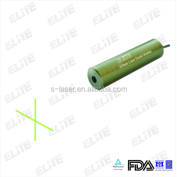 Industrial green 520nm Laser Diode Module