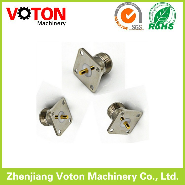 N female connector extended m*5 pin n female connector panel mount 20. n female flange panel mount clamp