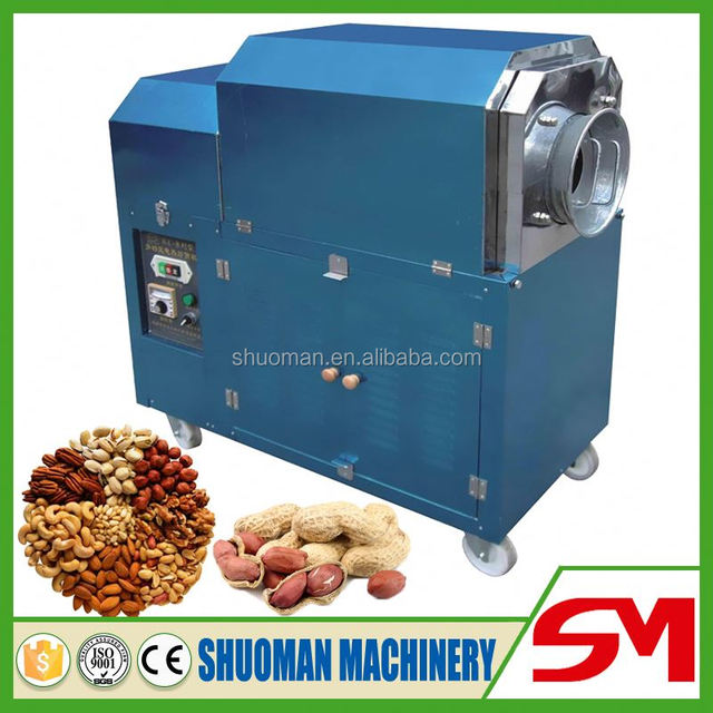 Best selling Trade Assurance organic roasted chestnuts machine for sale