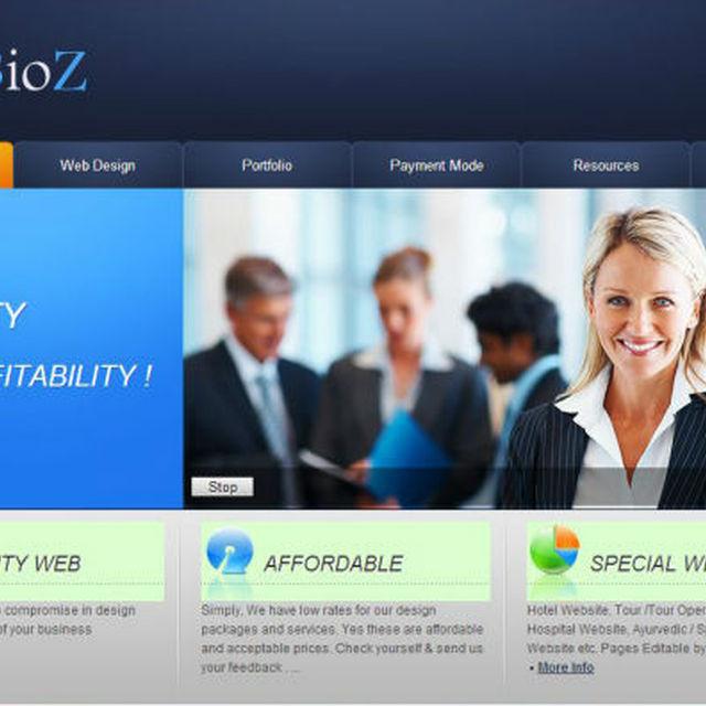 8 Pages Simple Dynamic CMS Web Design & Development - USD 90