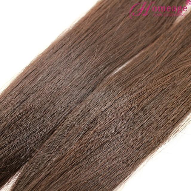 Homeage virgin peruvian hair weaving cheap human hair peruvian straight virgin hair blonde