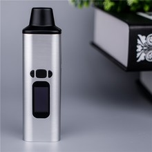 2017 hot selling ceramic dry herb chamber vaporizer with 0.96 inch digital OELD