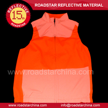 Animal year Red reflective safety vest for riding,good luck with you