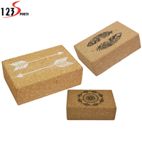 Wholesale 100% natural cork yoga block
