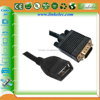 Alibaba China gold supplier usb female to vga male