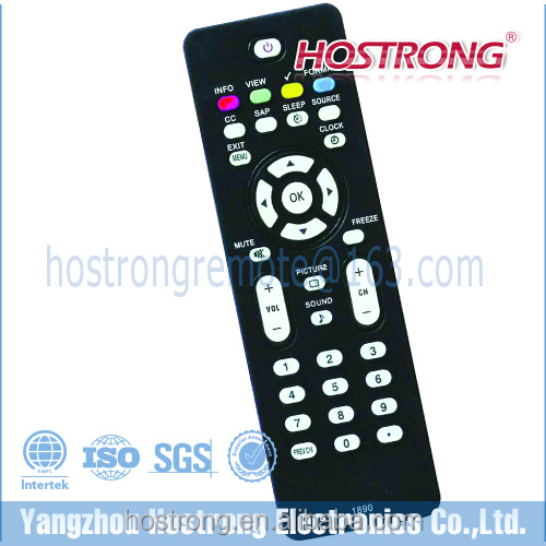 BLACK SMART LCD LED TV REMOTE FOR PHILIPS TELEVISION 1890