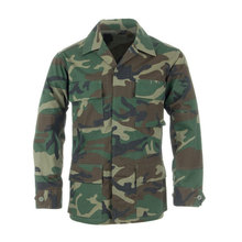 BDU Army Woodland military camouflage uniform men clothing