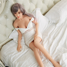 Celebrity Sex Doll Long Hair Hot Real Feeling Plush Busty Sex Doll For Man (150cm)