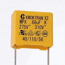 X2 0.68UF capacitor for printed circuit board