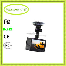 Car DVR Dual Camera, Motion Detection Cycle recording Night Vision Seamless Recording DVR-219
