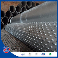 Bridge type screen pipes for water well drilling