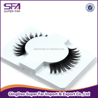 wholesale darkness fake eyelashes human hair eyelash ,synthetic eyelashes