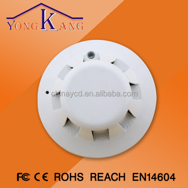 Functional Wireless Vibration And Magnetic Alarm Detector Smoke Detector Motion Sensor(YCD-GD-13)