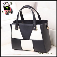 Low moq china handbags wholesale pu handbags free shipping