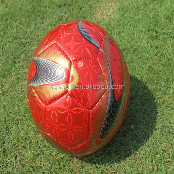 pvc rubber bladder football machine sewn soccer ball match ball