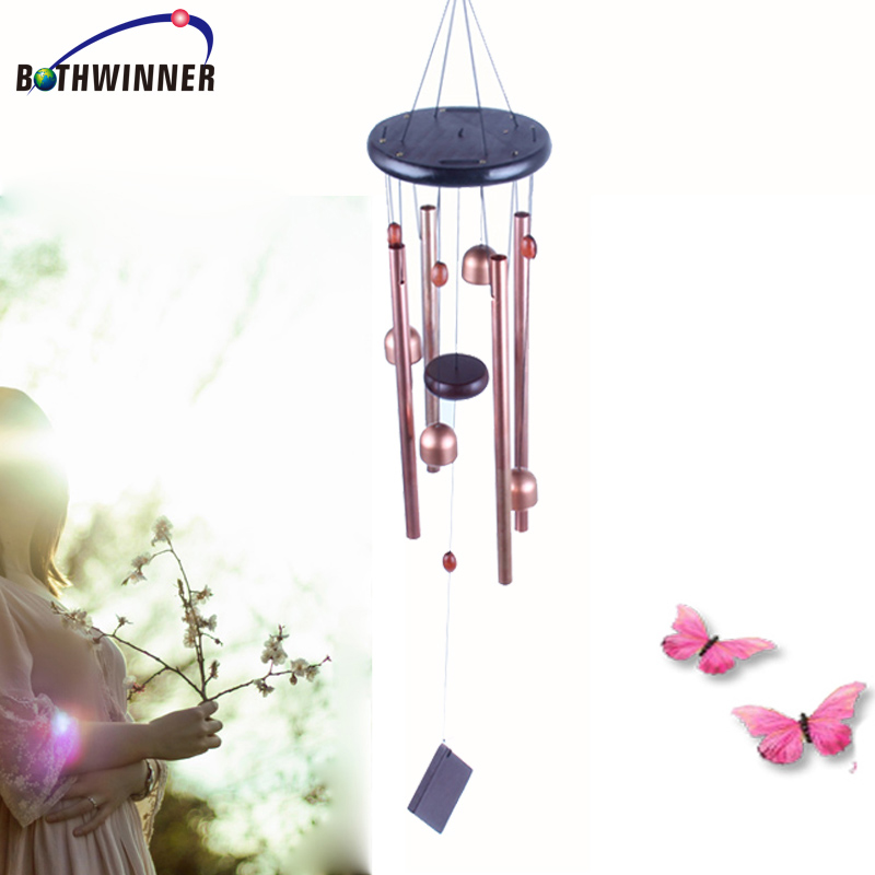Amazon Hot sell metal wind chime for Christmas outdoor decoration 2017