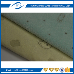 "58/60"" width and 100% polyester super velvet with rubber garment fabrics made in china"