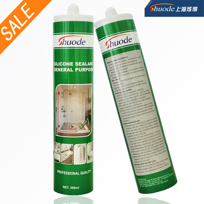 general purpose auto glass structural neutral gp silicone sealant