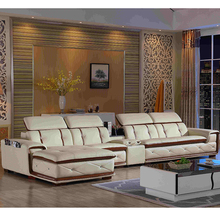 Customized Professional Good price of Leather Recliner Sofa