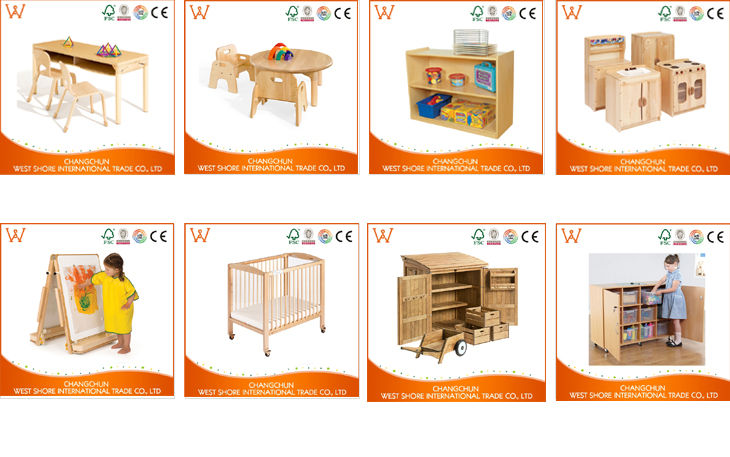 China Supplier play ground kids party solid oak furniture With Long Life