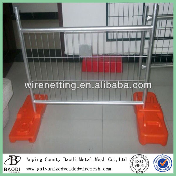 wire panel removable welded temporary metal fencing