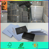 High density both side grey 700*1000mm sheet gray paper board