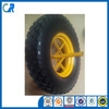 high quality manufacturer 4.00-8 pu wheel for wheel barrow