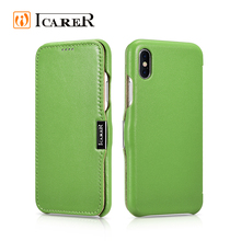 ICARER Cowhide Leather Case for iPhone8,for Leather Case iPhone 8