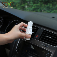 New Design Car Vent Clips Solid Air Freshener with Essential Oil